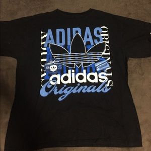 """Adidas """"foot action"""" Tee size L"""